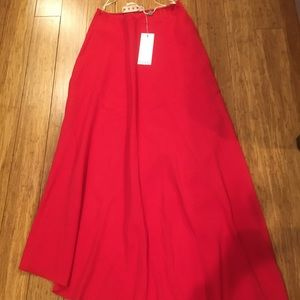 BNWT MARNI MAXI RED SKIRT